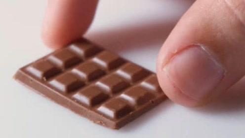世界最小的巧克力,却没有一个人能吃完,看到结果太意外