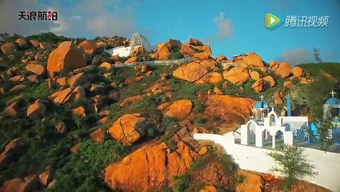 天浪航拍 台山那琴半岛地质海洋公园