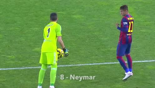 守门员们长点心吧,你的球是这样被偷走的
