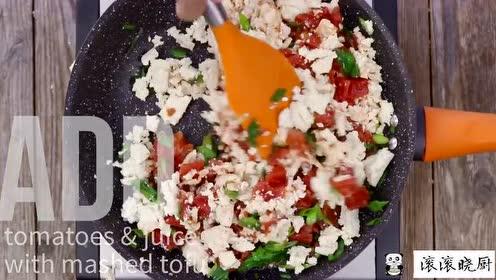 番茄炒嫩豆腐