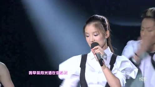 快女全国总决赛11进10段林希演唱王菲和李健歌曲《传奇》
