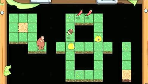 熊大熊二迷宫冒险熊出没小游戏
