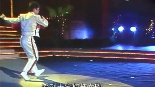 1988年春晚,一段让人叫绝的霹雳舞歌曲《雨中即景》