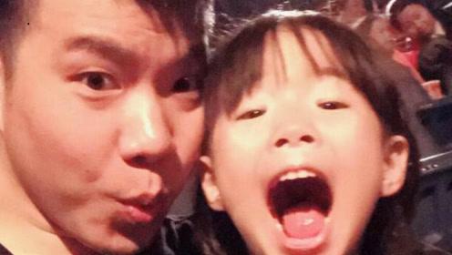 黄毅清给5岁女儿庆生,泄露强大朋友圈,黄晓明夫妇韩庚都抱过她