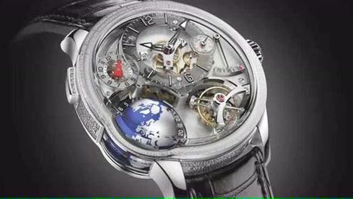 Onlylady2018SIHH 高柏富斯GMT Earth腕表 同时显示三个时区时间