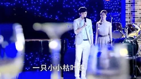 小情侣分开几月后,因为这首歌重聚,男主唱得太走心