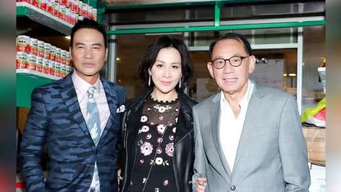 刘嘉玲25年后再次搭档任达华 贴心为其擦汗
