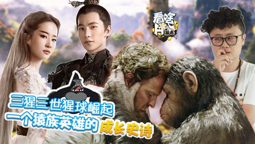 三猩三世猩球崛起,一个猿族英雄的成长史诗 106《看啥片儿》