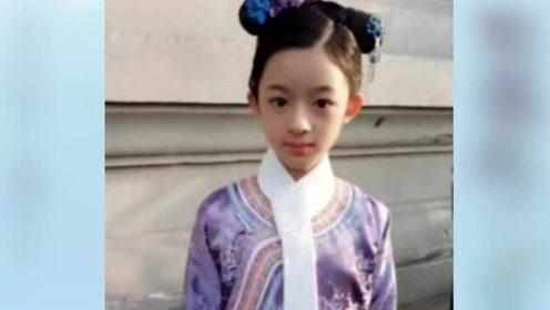 因《楚乔传》爆红 9岁承包所有古装剧女主 演技堪称教科书