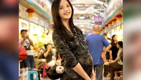 明星菜市场摆拍,蒋勤勤买菜像逛商场,姚晨挺孕肚成最美孕妇!