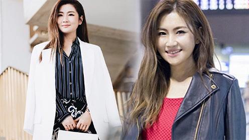 Selina现身台北机场 甜美成熟美回颜值巅峰