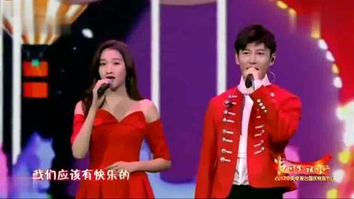 关晓彤和王嘉深情演唱《想把我唱给你听》,分分钟被女神美哭