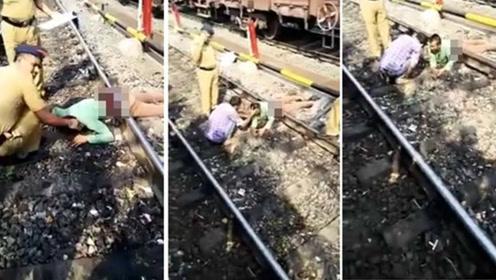 男子摔下火车被碾过 上下半身分离奇迹生还