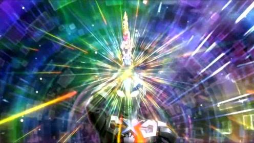 艾克斯奥特曼对战暴君,最后银河奥特曼前来相助