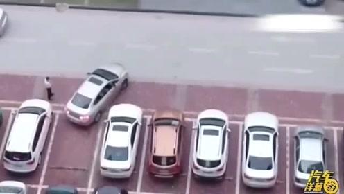 大哥,我觉得可能没你的指挥,人家司机早就停好了
