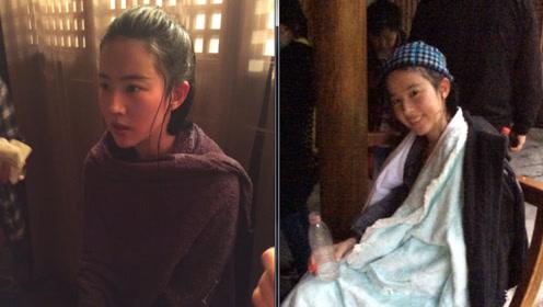 刘亦菲拍水戏敬业不用替身,浑身湿透仍不忘对镜头微笑