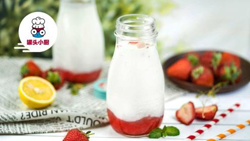 这个季节的少女都喝些什么?草莓牛奶了解一下