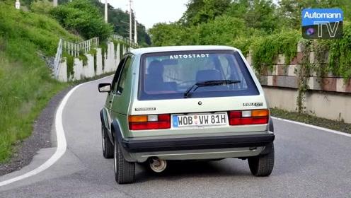 大众经典神车!高尔夫Golf Mk1 GTI,开上公路可玩性竟这么高