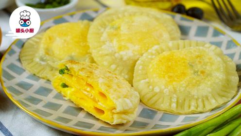 饺子皮花样新吃法!做成鸡蛋灌饼让你吃光还想买