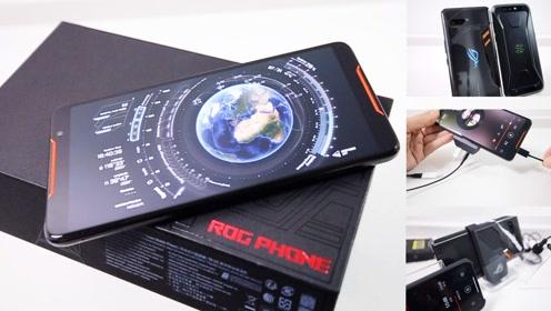 国行华硕玩家国度ROG游戏手机深度开箱,大战黑鲨谁终称王?