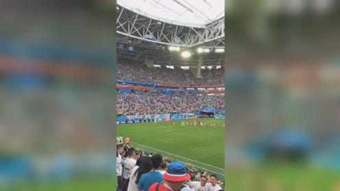 比利时2:0英格兰获得2018世界杯季军,比利时球员谢场
