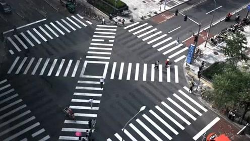 北京首个全向十字路口亮相 竟然长这般模样
