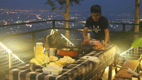 探秘厦门海拔最高民宿,可俯瞰全市夜景,享受在城市上空吃晚餐