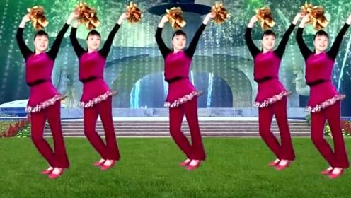 2019年,喜庆广场舞《开门红》送给大家,恭祝红红火火发大财!