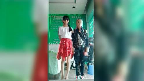 13岁的女儿太高了