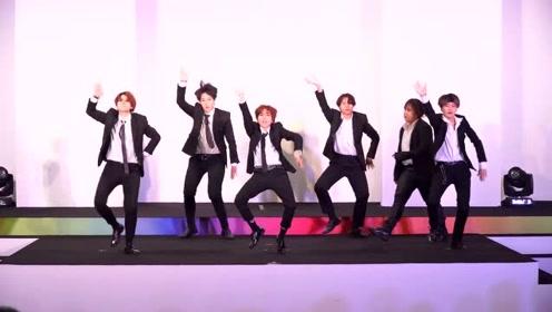 韩国大学生翻跳BTS《MIC Drop + IDOL》,最领舞的妹子抢镜了!