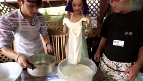 赵丽颖26岁在这部宝藏综艺美出天际 最后一张上演豆腐西施
