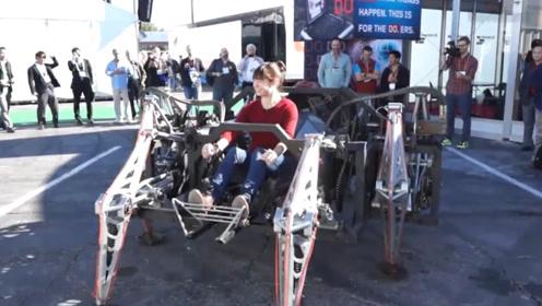 国外大学生耗时7年,发明蜘蛛战车,速度惊人,能代替汽车吗?