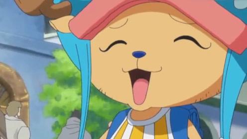海贼王:乔巴太呆萌可爱了,把一群冒牌草帽团,当成了同伴