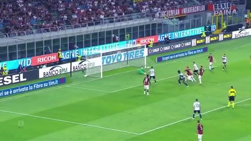 博阿滕、热尔维尼奥、伊瓜因和切萨在意甲第5轮各进一球