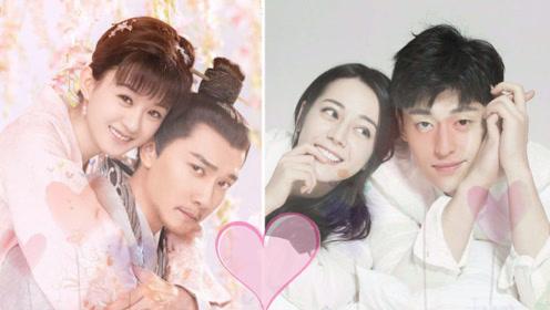 高甜cp的高甜举动:赵丽颖主动亲冯绍峰,邓伦树咚杨紫给热巴扎头发