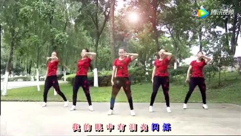 广场舞《情火》5位姐姐跳激情四射