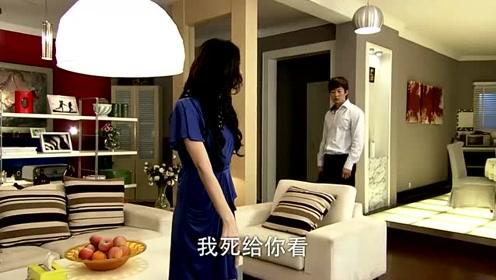 洪世贤找艾莉撇清关系,她却拿玻璃片割手腕威胁,洪世贤竟心软