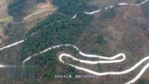 中国最危险的挂壁公路,4400米修了10年,老司机看着都悬