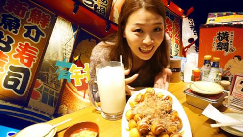 挑战日本相扑食量美食,我居然吃完了!