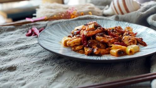 虾还能这样做!经典宫保味型,老少皆宜的家常美味,宫保虾球