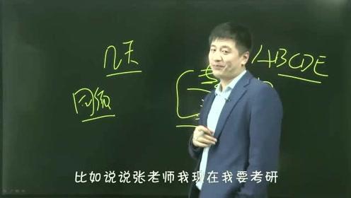 神段手张雪峰:考研中的面试有哪些技巧?张老师告诉你,精准而优雅