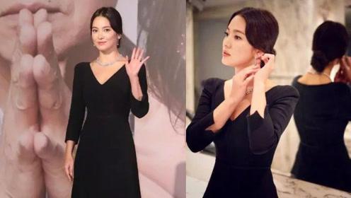 离开韩剧滤镜的宋慧乔突然感觉老态尽显 妆前产品要选好