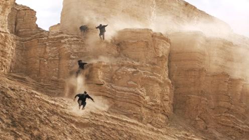 悬崖峭壁上极速跑酷?旁边可是万丈深渊!