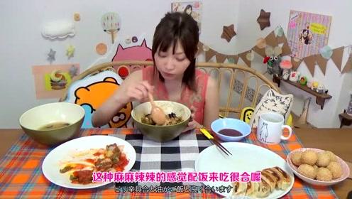 木下最喜欢的5种中华料理今天一次性全吃了 怎么感觉越来越瘦了?