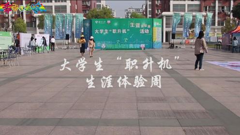 """乖乖街采 大学生""""职升机""""生涯体验周"""