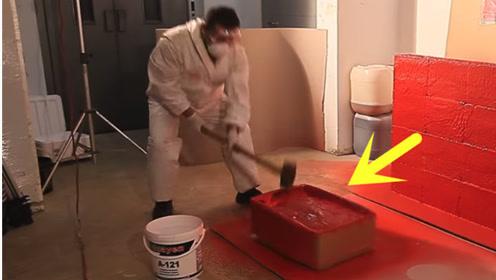 超强涂料!纸箱喷上就牢不可破,锤砸都不带怕的
