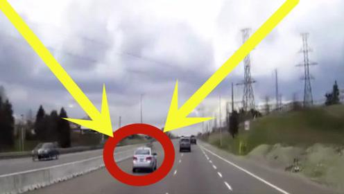女司机随便掉头,这后视镜是不管用,还是重新考个驾照吧!