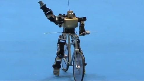 世界上最小的自行车,世界上最小的机器人