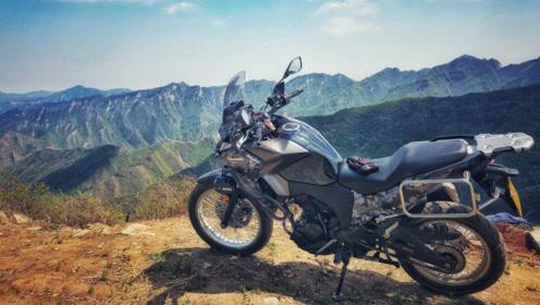 川崎异兽300穿越京西林道 这才是越野摩托的真正玩法