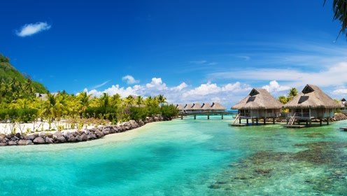 怎么这个风景不输马尔代夫的岛屿,只让中国游客进去旅游呢?
